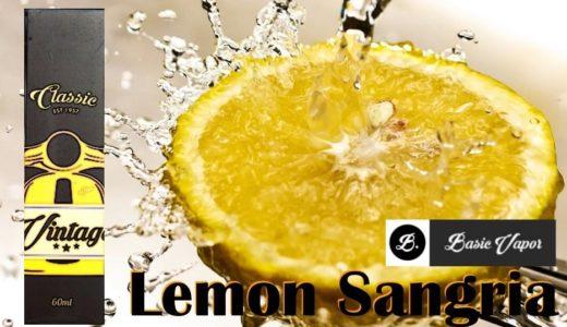 【VAPEリキッド】LemonSanguria(レモンサングリア)<レモンコーラ味>をレビュー!これはまじでおすすめ!【Basic Vapor】